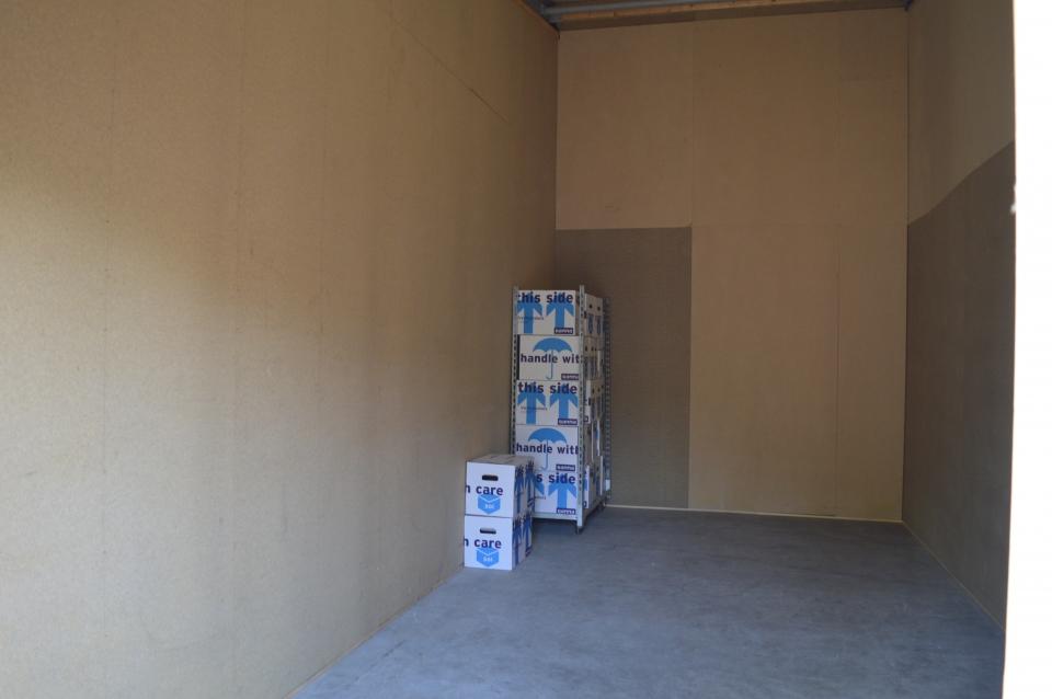 Opslagruimte huren  5 30 x 2 40 m voor 152,29 euro p  m   majabox nl